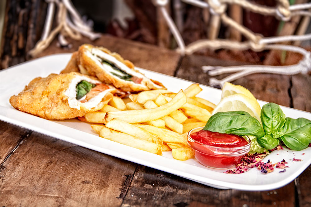 Restaurant Seehof Cordon bleu