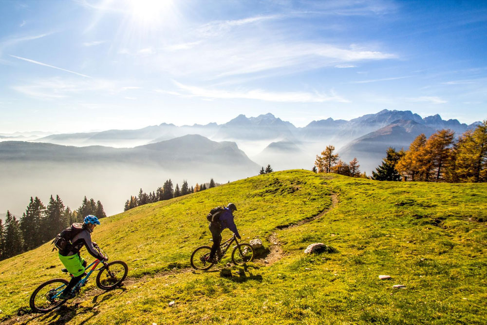 Mountainbike Kärnten Villach Tour areaone